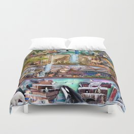 The Amazing Animal Kingdom Duvet Cover