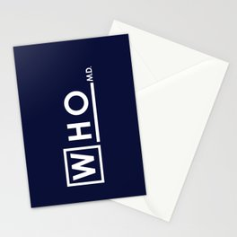 WHO MD Stationery Cards