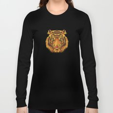 Liger Abstract - Its a Lion Tiger Hybrid Long Sleeve T-shirt