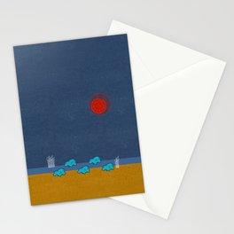 Hippo Parade Stationery Cards