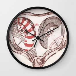 Foxhead Wall Clock