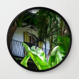 HEMINGWAY HOME KEY WEST Wall Clock