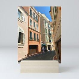 Monaco  Monte Carlo Cityscape Mini Art Print