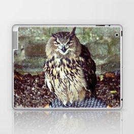 Happy Owl. Laptop & iPad Skin