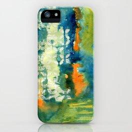 Aquamarine Dreams iPhone Case