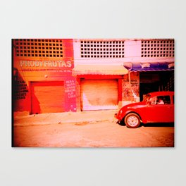 Punchbuggy Red Canvas Print