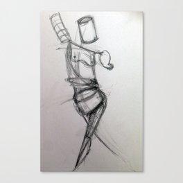 Sketchbook 1 Canvas Print