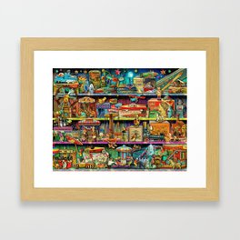 Toy Wonderama Framed Art Print