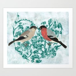 Finding your mate Art Print