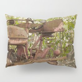 Abandoned Tractor Pillow Sham