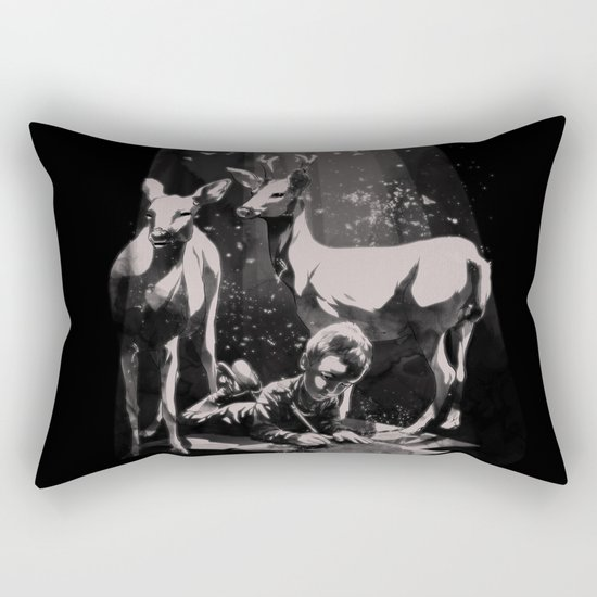 Deer Dad Rectangular Pillow