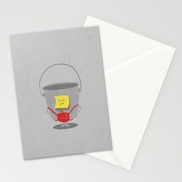death to bullies Stationery Cards
