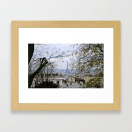 View From Sacre Coeur Framed Art Print