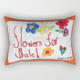 Flowers for Sale by Sophie6 Rectangular Pillow