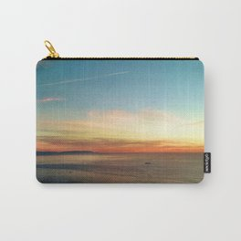 Pacific Ocean Sunset off the Coast of California Carry-All Pouch