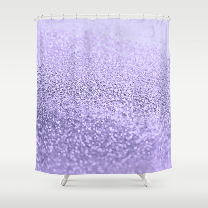 PURPLE LAVENDER Shower Curtain