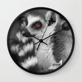 #Funny #Animals from #Madagascar Wall Clock