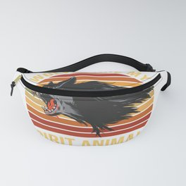 Wolves Are My Spirit Animals Fanny Pack