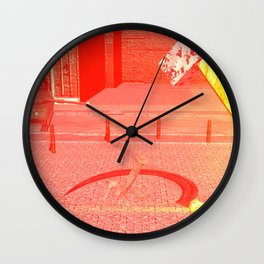 SquaRed: Hammer Sickle Wire and The Gun Wall Clock