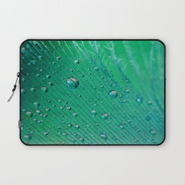 Emerald Feather Laptop Sleeve