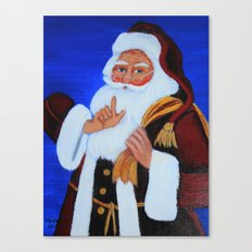 Ho Ho Ho  / Christmas card Canvas Print
