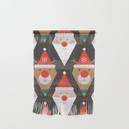 Santa & Rudolph (Patterns Please) Wall Hanging