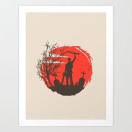 Boomstick Art Print