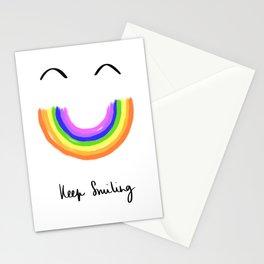Keep Smiling 2020 Rainbow Stationery Cards