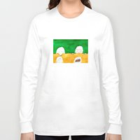 chocolate Long Sleeve T-shirts featuring Chocolate by Satoshi OTA