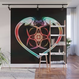 Smoke HeART 1 Wall Mural