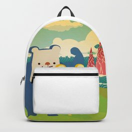 SHANHAIJING-BreadBear_PAREnts_WAS-YOung Backpack