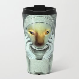 Diva Cat Metal Travel Mug