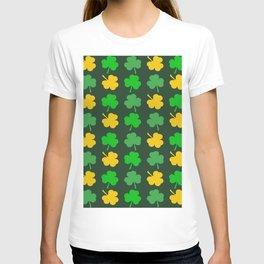 ST PATRICK'S DAY SHAMROCK PATTERN T-shirt