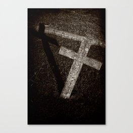 Cross and Shadow Canvas Print
