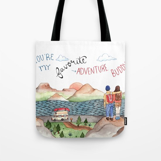 Adventure Buddy Tote Bag