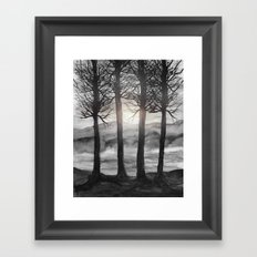 Grateful Love Song B&W Framed Art Print