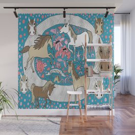 All the Pretty Horses Wall Mural