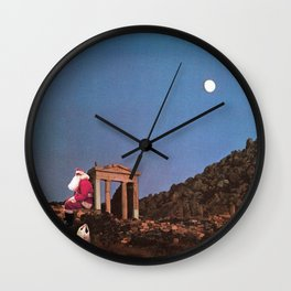 i am tired of earth. these people. Wall Clock