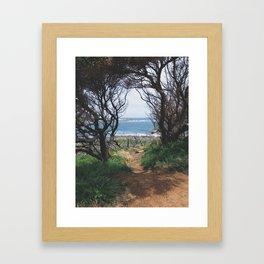 Hidden Path  Framed Art Print