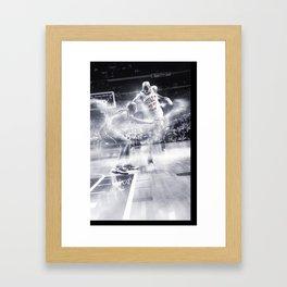 His Airness Framed Art Print