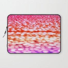 Sunset Glitter Sparkles Laptop Sleeve