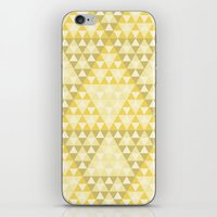 triforce iPhone & iPod Skins featuring Triforce by Gavin Guidry