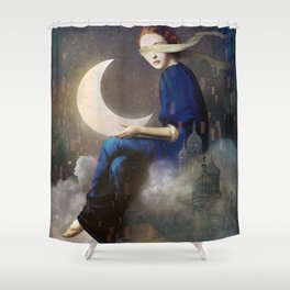 Kingdom of Clouds Shower Curtain