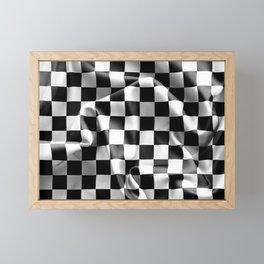 Chequered Flag Framed Mini Art Print