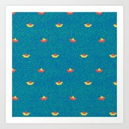 SEAWAX Art Print