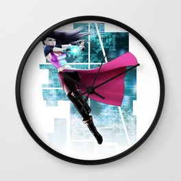 duel b Wall Clock