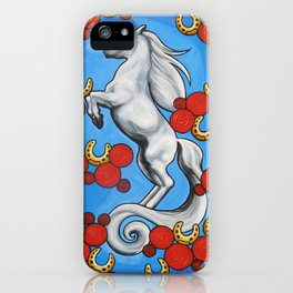 'HORSESHOES' - Ruth Priest iPhone Case