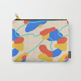 Shapes & Waves Carry-All Pouch