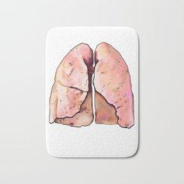 Lungs Bath Mat