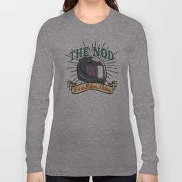 Bikers Nod Long Sleeve T-shirt